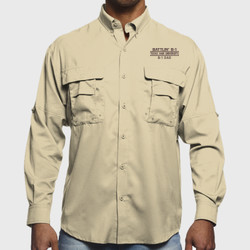 Battlin' B-1 Dad L/S Fishing Shirt