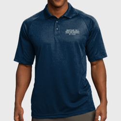 Battlin' B-1 Dad Dri-Mesh Polo