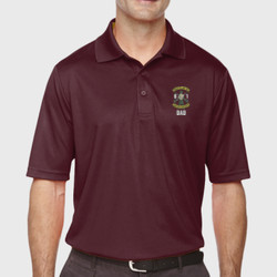 Battlin' B-1 Dad Performance Polo