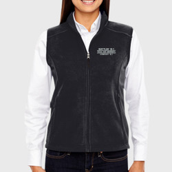Battlin' B-1 Ladies Fleece Vest