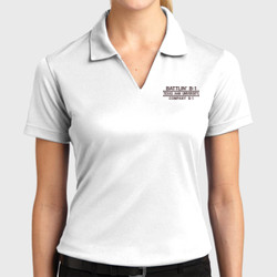 Battlin B-1 Ladies Dri-Mesh Polo